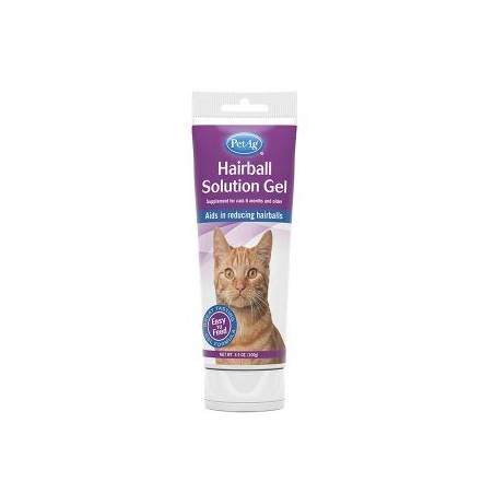 Hairball Solution Gel dla kotów 100g